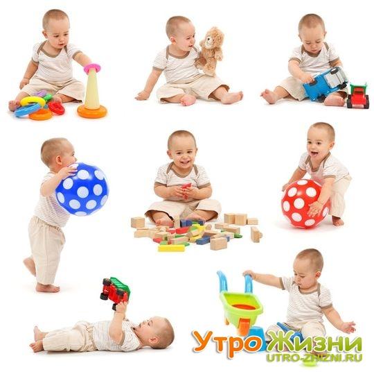 Развивающие игры ребенку 1 год.