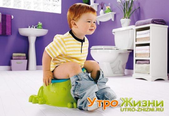 Приучить ребенка к горшку